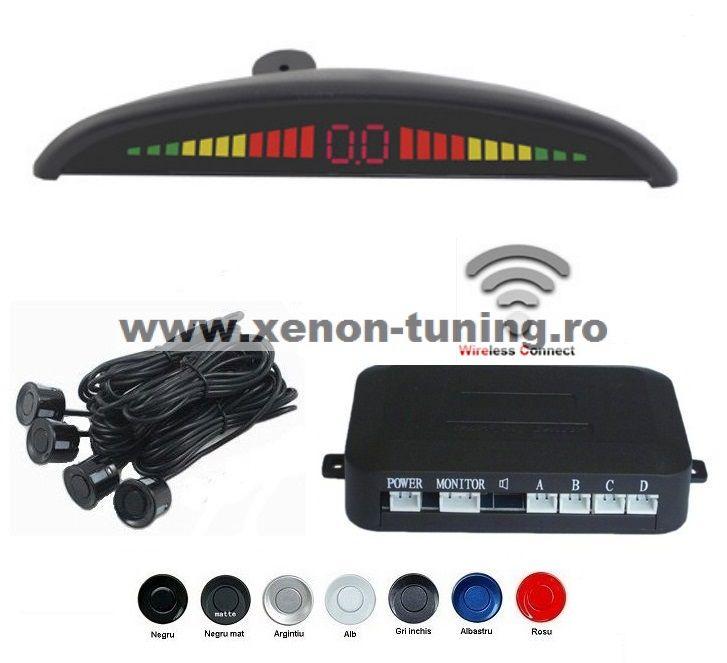 Senzori parcare cu display LED Wireless