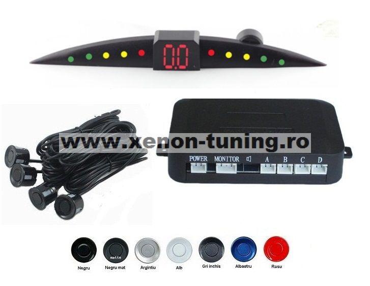 Senzori parcare cu display LED Ultra Slim