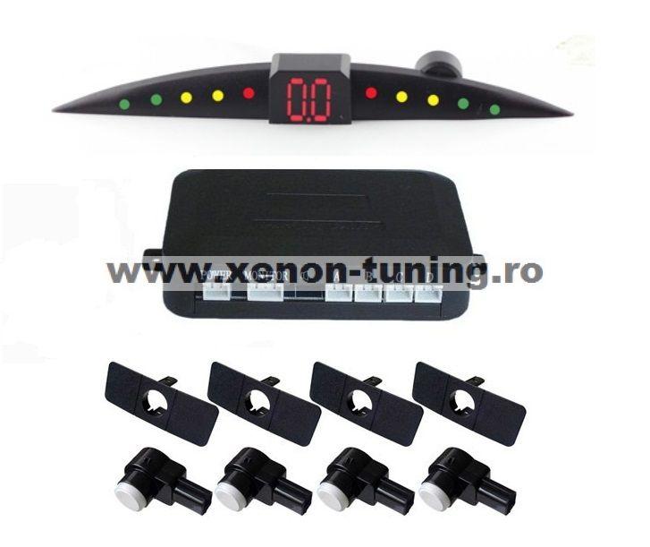 Senzori parcare tip OEM cu senzori tip originali 16,5 mm cu display LED S301-OEM