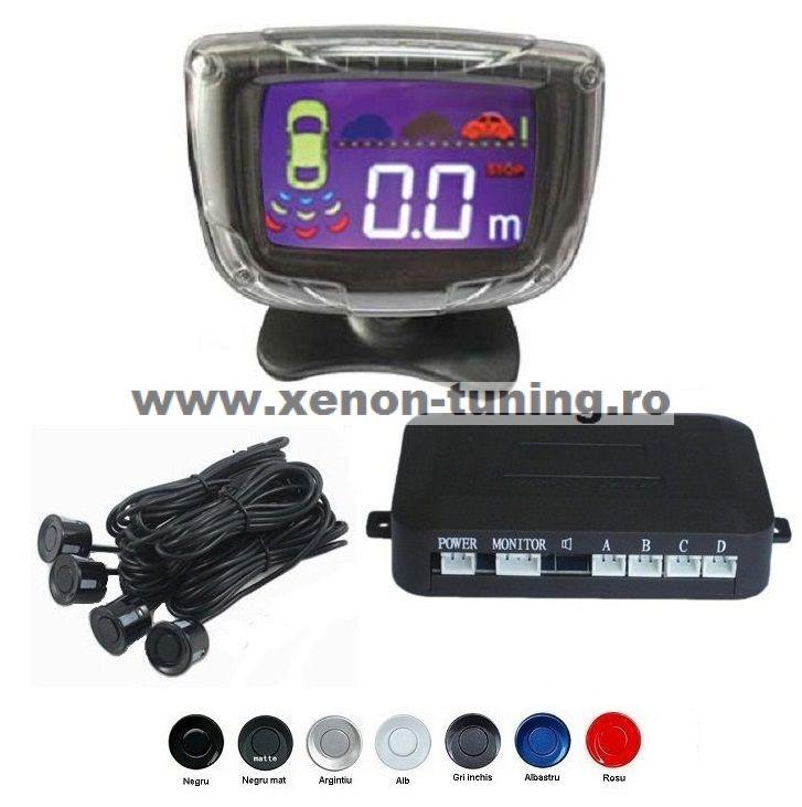 Senzori parcare cu display LCD S3500